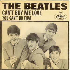 beatles can't buy me love picture sleeve