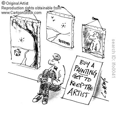 keep the artist